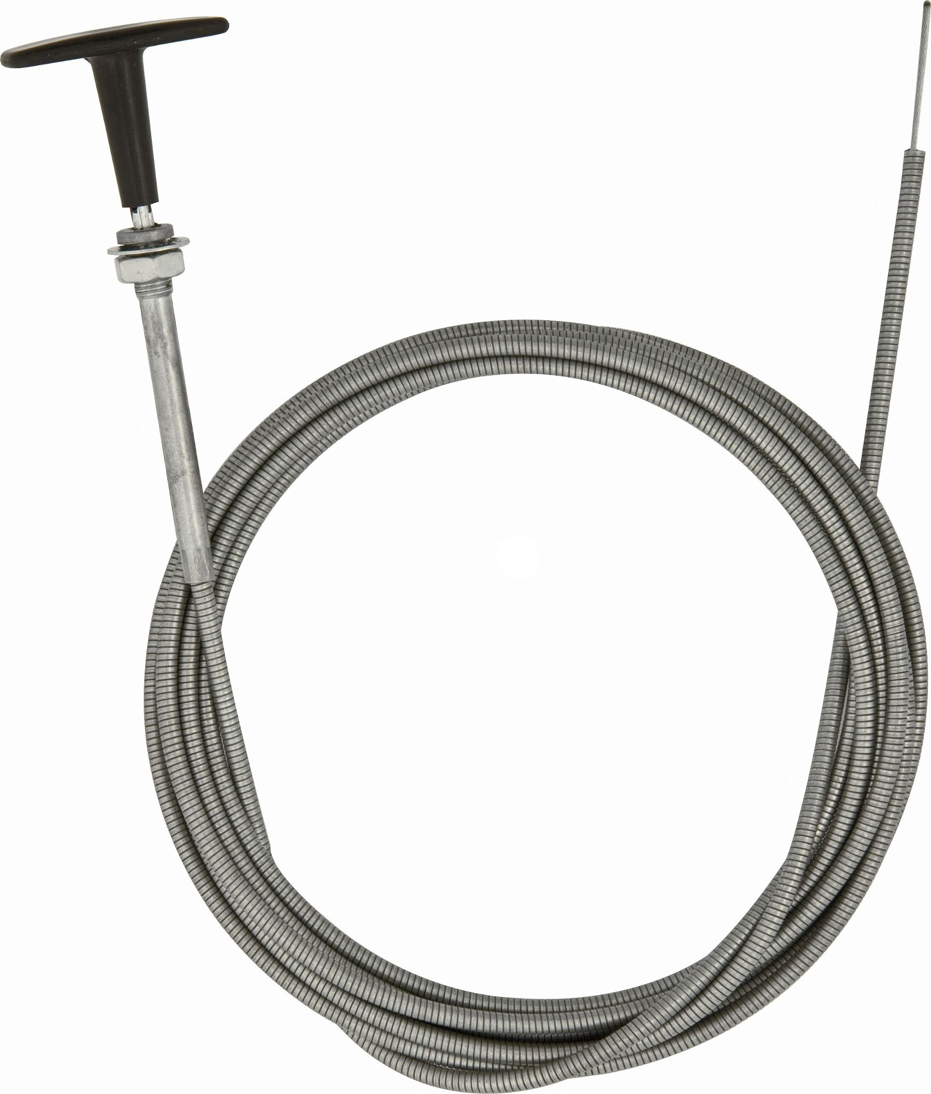 Vehicle automotive diesel stop bonnet cables with t for Cable bowden